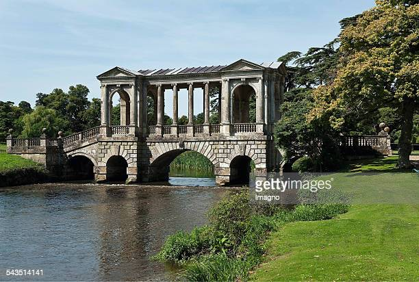 Palladian bridge in the park of Wilton House About 2000