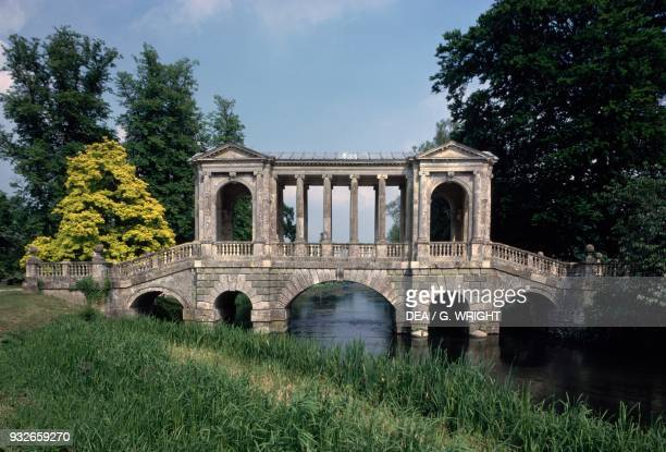 Palladian Bridge Wilton House near Salisbury England United Kingdom