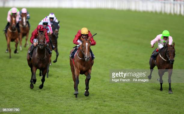 Pallasator ridden by Jockey Jamie Spencer wins the Queen Alexandra Stakes during day five of Royal Ascot at Ascot Racecourse