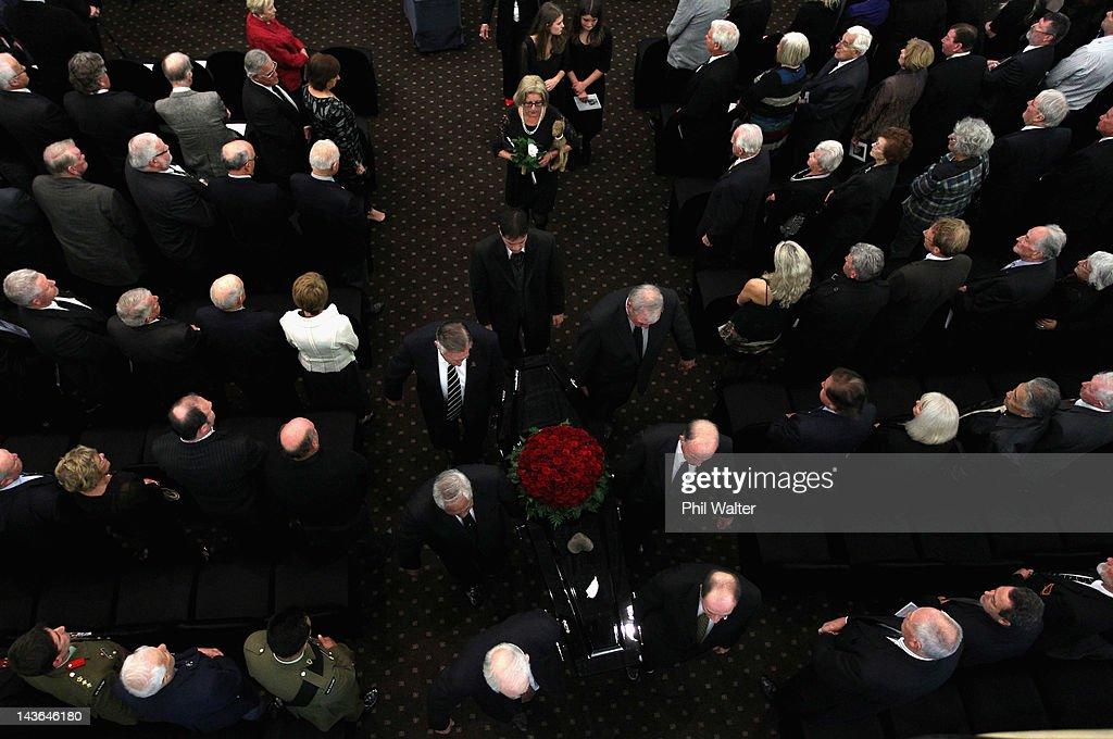 Sir Fred Allen Funeral Service