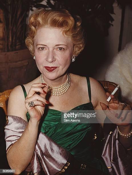 Palm Beach hostess Dolly O'Brien at a polo ball 1955 A Wonderful Time Slim Aarons