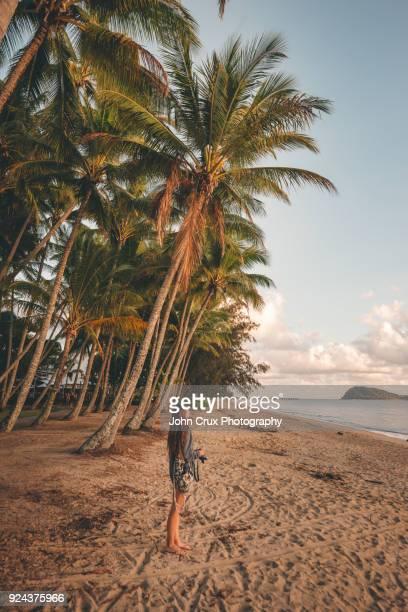 palm cove beach tourist