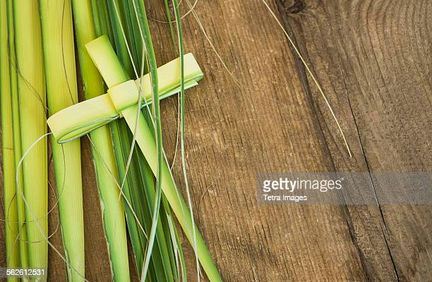 palm leaves for palm sunday - palm sunday stock pictures, royalty-free photos & images