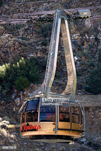 palm springs aerial tranway - palm springs stock pictures, royalty-free photos & images