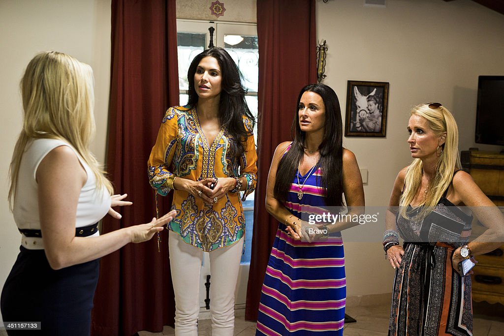 HILLS -- 'Palm Springs Breakers' Episode 406/407 -- Pictured: (l-r) Joyce Giraud, Kyle Richards, Kim Richards --