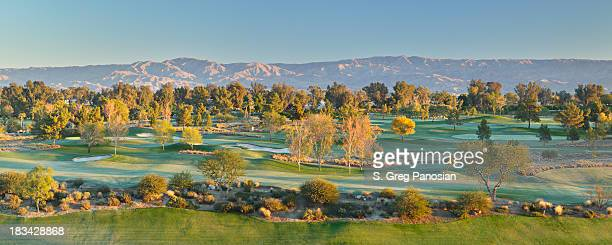 palm springs golf course - indian wells california stock pictures, royalty-free photos & images