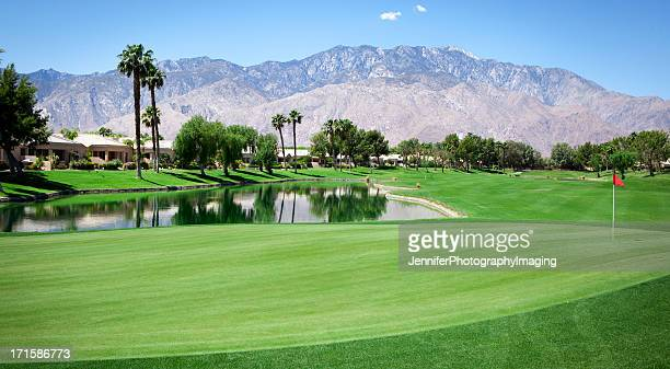 Palm Springs Golf Course Putting Green