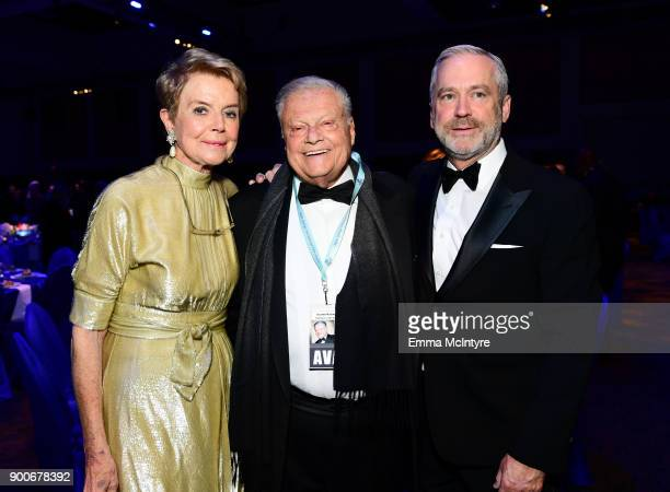 Palm Springs International Film Festival Chairman Harold Matzner and guests attend the 29th Annual Palm Springs International Film Festival Awards...