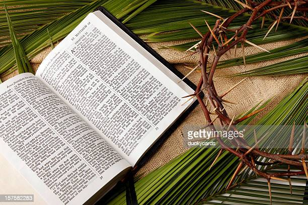 palm sunday and good friday background - palm sunday stock pictures, royalty-free photos & images