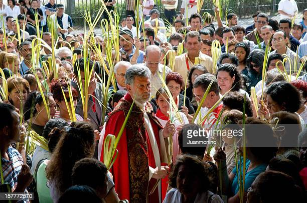 palm sunday celebration - palm sunday stock pictures, royalty-free photos & images
