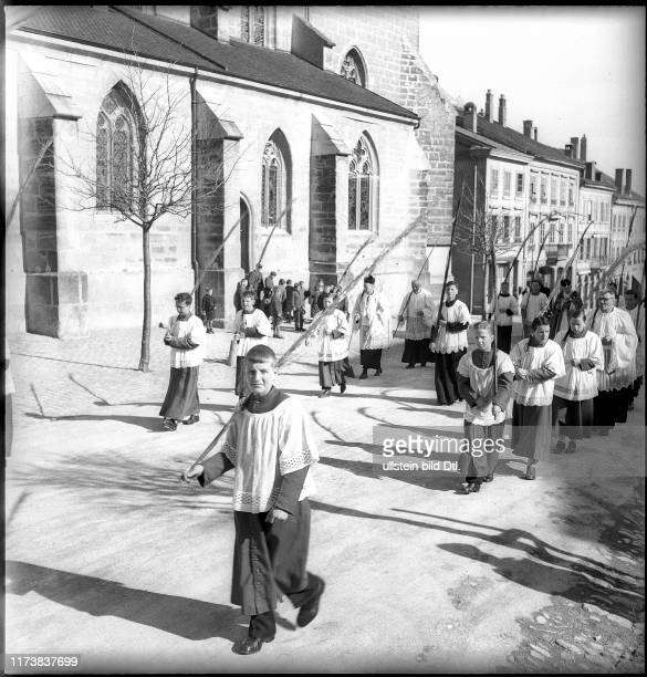 Palm Sunday in Romont 1944