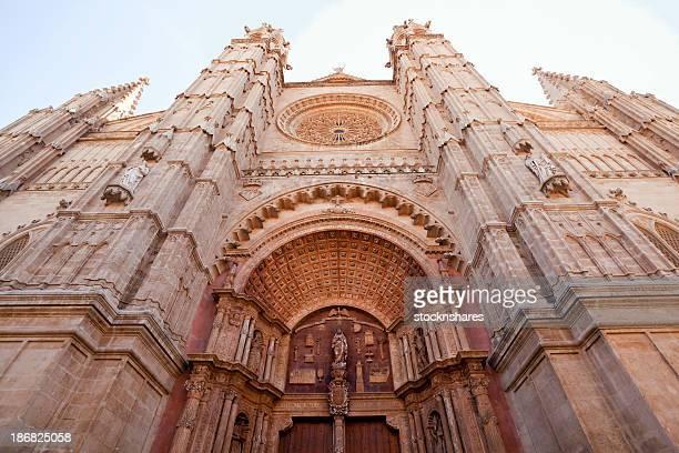 Palma Cathedral Entrance Facade