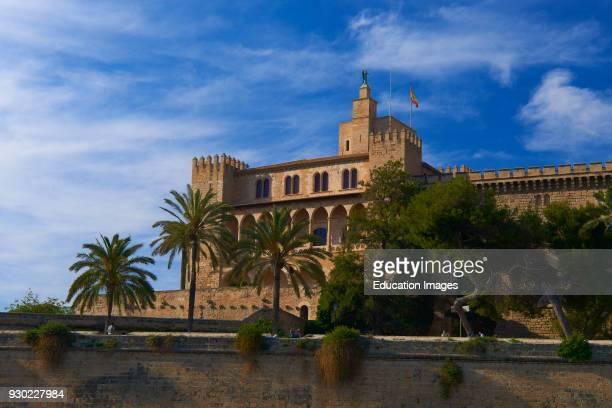 Palma de Mallorca Almudaina Palace Palma Majorca Balearic Islands Spain Europe