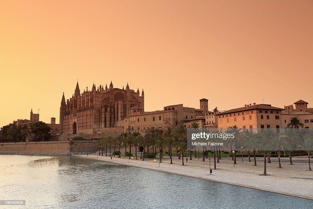 Palma de Mallorca Cathedral : Foto de stock