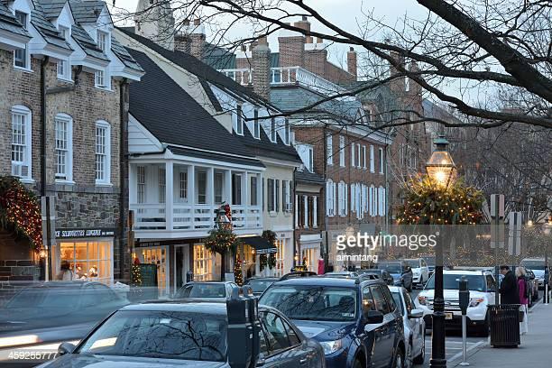 パーマースクエアのプリンストン - ニュージャージー州 プリンストン ストックフォトと画像