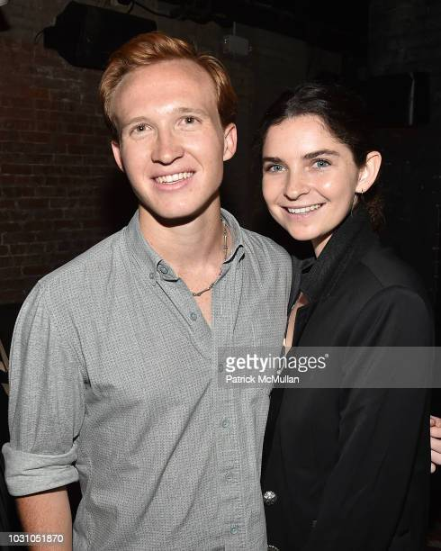 Palmer Taipale and Mackenzie Wrightattend the Nicole Miller Spring 2019 After Party at Acme on September 6 2018 in New York City