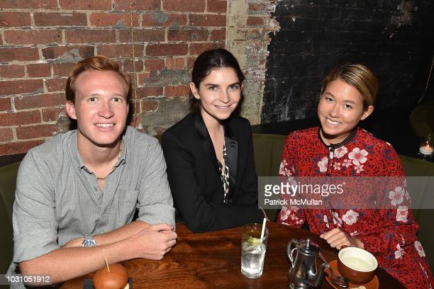 Palmer Taipale Mackenzie Wright and Storey Schifter attend the Nicole Miller Spring 2019 After Party at Acme on September 6 2018 in New York City
