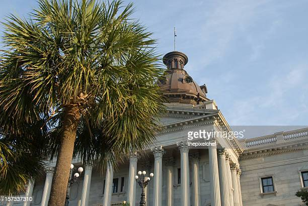 Palmetto trees at the South Carolina State House