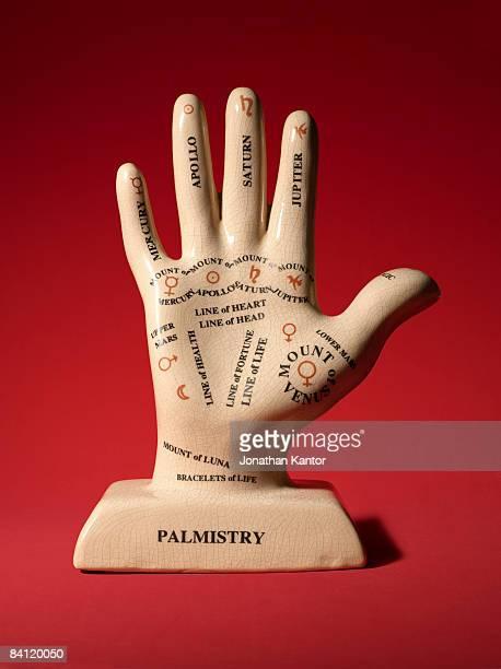 Palmistry Hand Sculpture