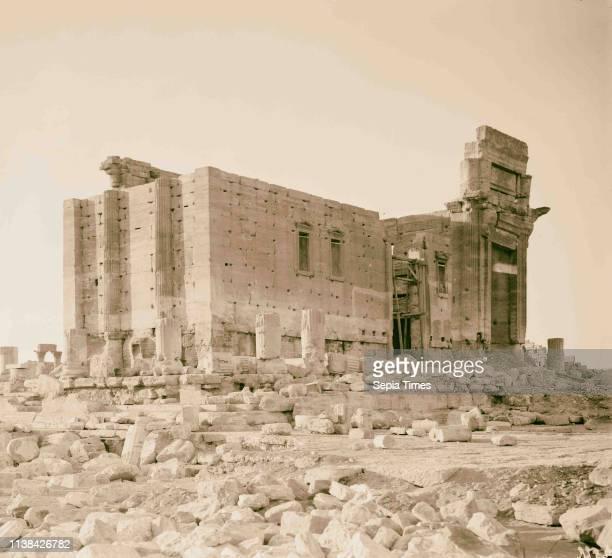 Palmyra. 1898, Syria, Tadmur