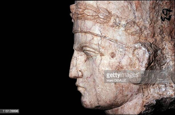 Palmyra's Last Treasures in Syria in September 2002 A bust of a Palmyrean man made of marble a rare and prestigious material in Palmyra It was...