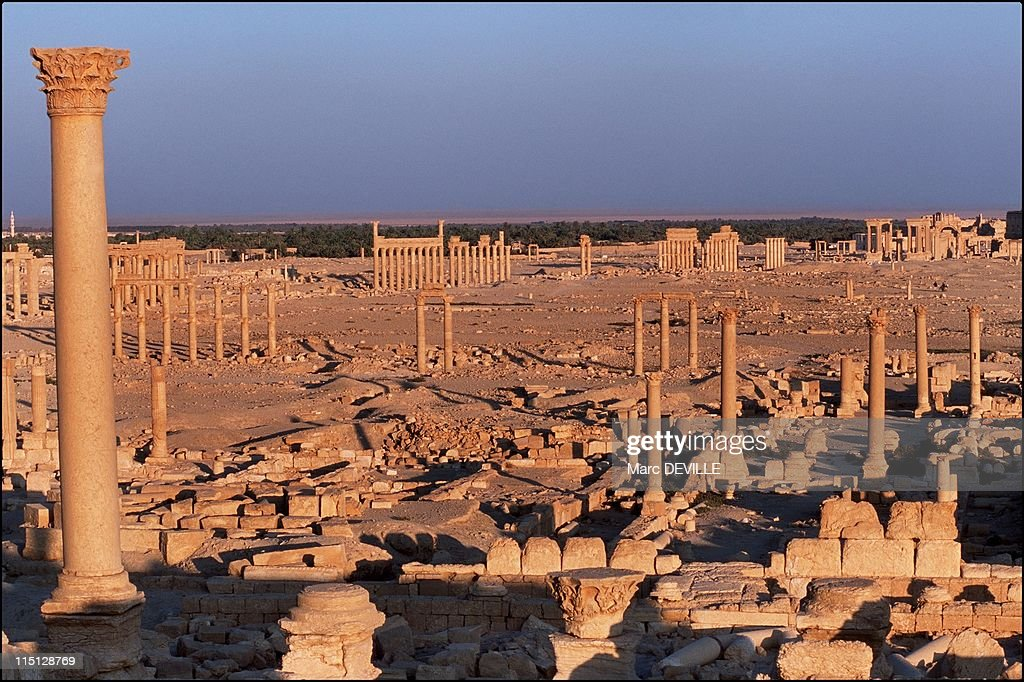 Palmyra'S Last Treasures In Syria In September, 2002. : News Photo