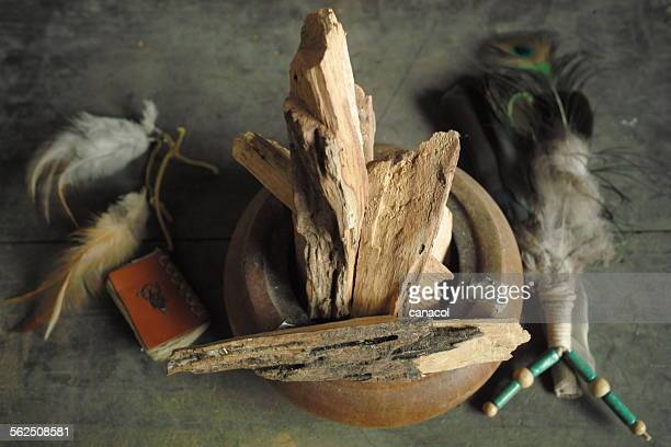 palo santo - ceremony stock pictures, royalty-free photos & images
