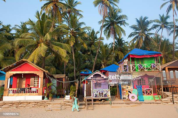 Palolem beach front,Goa,India