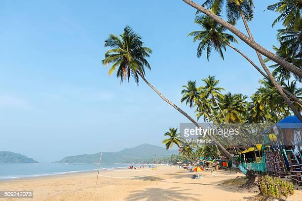 palolem beach in goa, konkan, india - goa stock pictures, royalty-free photos & images