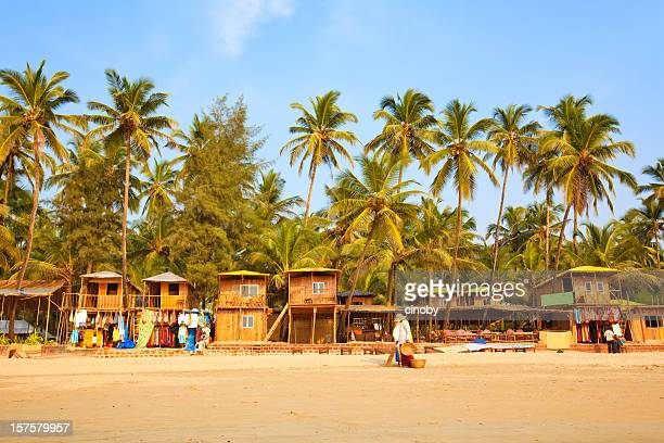 palolem beach - goa stock pictures, royalty-free photos & images