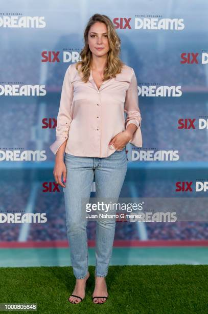 Paloma Bloyd attends 'Six Dreams' premiere at Capitol Cinema on July 17 2018 in Madrid Spain