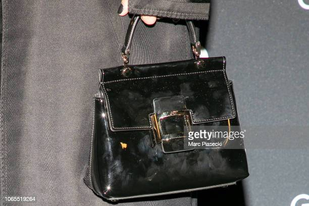 Paloma Coquant handbag detail attends GQ Men Of The Year Awards 2018 at Centre Pompidou on November 26 2018 in Paris France