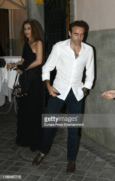 Paloma Cuevas and Enrique Ponce are seen on July 19, 2019 in Madrid, Spain on July 19, 2019 in Madrid, Spain.