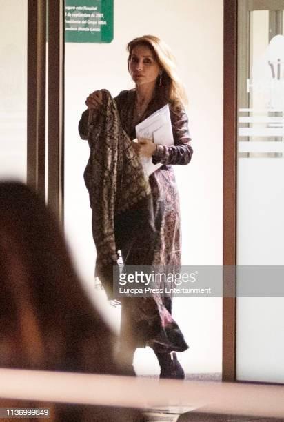 Paloma Cuevas arrives on March 19, 2019 in Madrid, Spain.