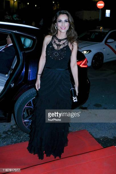 Paloma Cuevas attends the 75th anniversary party of the HOLA magazines at the Palacio de las Alhajas in Madrid September 12, 2019 spain