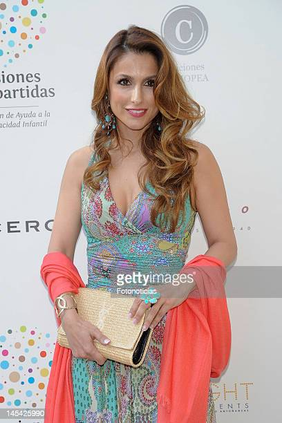 Paloma Cuevas attends the launch of 'Un Momento de Mi Vida' charity book at Casa de Monico on May 29 2012 in Madrid Spain
