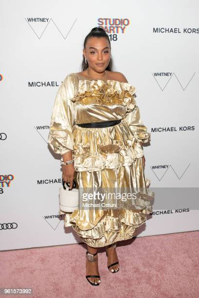 Paloma Elsesser attend the Whitney Museum Celebrates The 2018 Annual Gala And Studio Party at The Whitney Museum of American Art on May 22 2018 in...