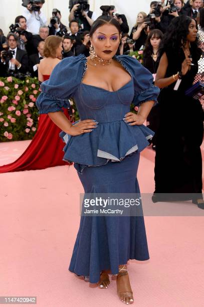 Paloma Elsesser attends The 2019 Met Gala Celebrating Camp: Notes on Fashion at Metropolitan Museum of Art on May 06, 2019 in New York City.