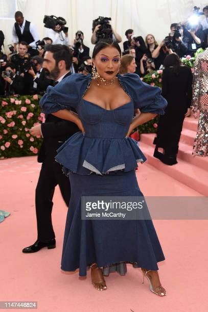 Paloma Elsesser attends The 2019 Met Gala Celebrating Camp Notes on Fashion at Metropolitan Museum of Art on May 06 2019 in New York City