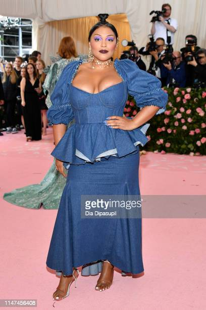 Paloma Elsesser attends The 2019 Met Gala Celebrating Camp Notes On Fashion at The Metropolitan Museum of Art on May 06 2019 in New York City