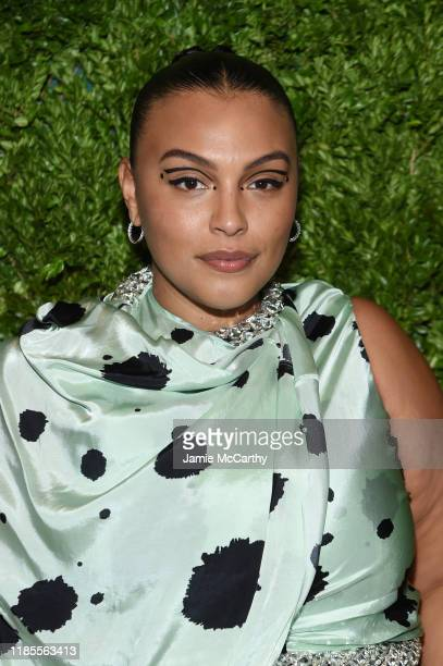 Paloma Elsesser attends the CFDA / Vogue Fashion Fund 2019 Awards at Cipriani South Street on November 04 2019 in New York City