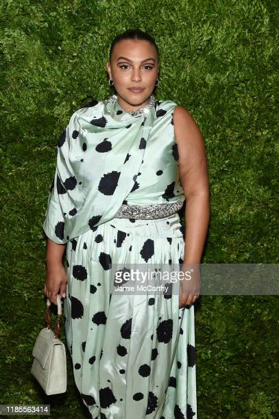 Paloma Elsesser attends the CFDA / Vogue Fashion Fund 2019 Awards at Cipriani South Street on November 04, 2019 in New York City.