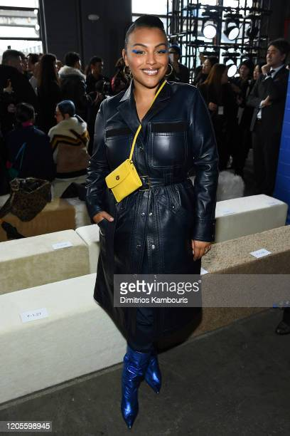 Paloma Elsesser attends the Coach 1941 fashion show during February 2020 - New York Fashion Week on February 11, 2020 in New York City.