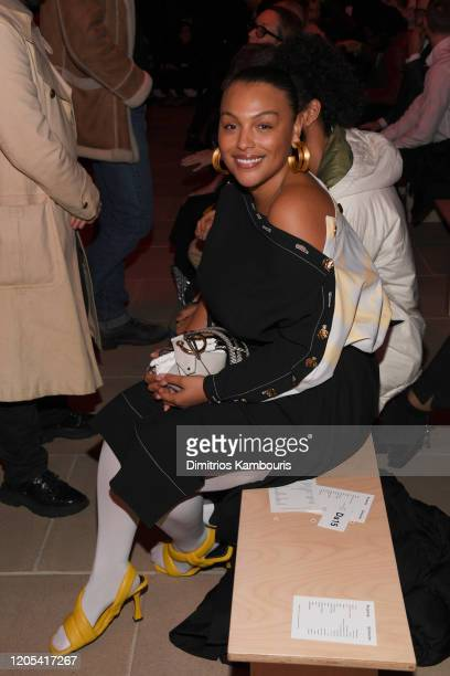 Paloma Elsesser attends the Proenza Schouler fashion show during February 2020 New York Fashion Week The Shows on February 10 2020 in New York City