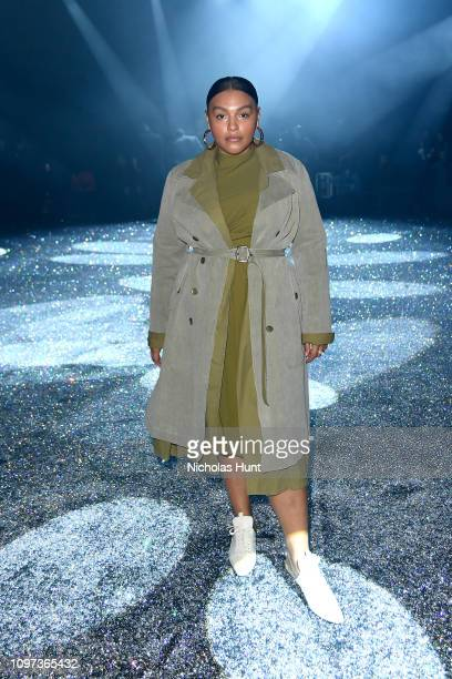 Paloma Elsesser attends the Sies Marjan FW'19 Runway Show at SIR Stage on February 10, 2019 in New York City.