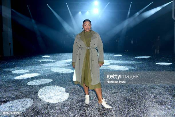 Paloma Elsesser attends the Sies Marjan FW'19 Runway Show at SIR Stage on February 10 2019 in New York City