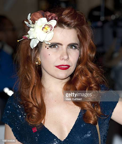 Paloma Faith Arrives At The Prince'S Trust Rock Gala At The Royal Albert Hall In Central London