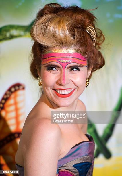 Paloma Faith arrives for the Cirque du Soleil: Totem UK Premiere at the Royal Albert Hall on January 5, 2012 in London, England.