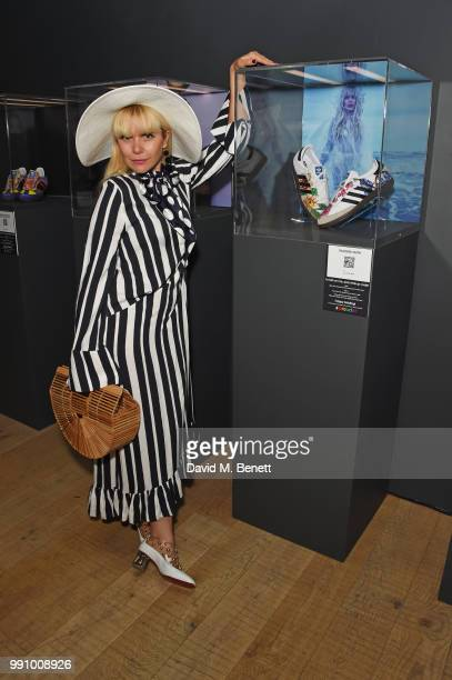 Paloma Faith attends adidas 'Prouder' A Fat Tony Project in aid of the Albert Kennedy Trust supporting LGBT youth at Heni Gallery Soho on July 3 2018...