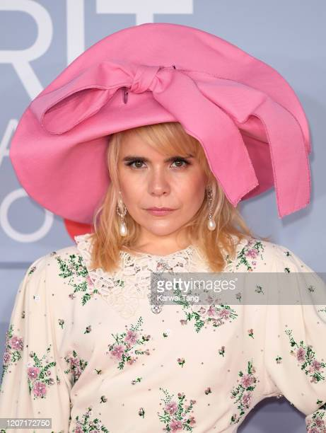 Paloma Faith attends The BRIT Awards 2020 at The O2 Arena on February 18, 2020 in London, England.